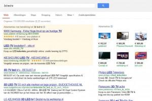 Screenshot 3d led tv