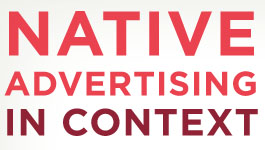 Wat is native advertising?