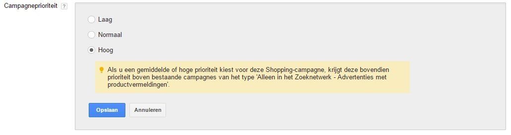 Campagneprioriteit-google-shopping